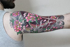 Japanese Finger Waves Shige Tags  japan tattoo koiJapanese Finger Waves Shige