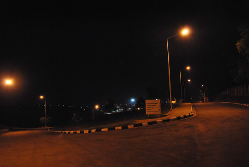 TAPMI at night