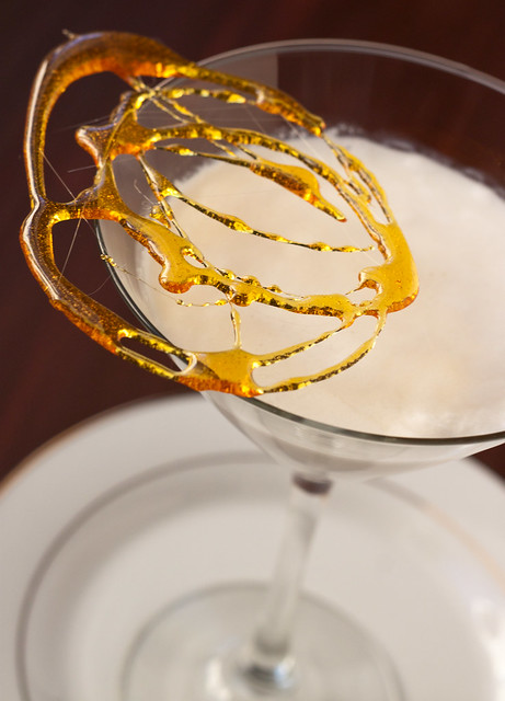 White Chocolate Creme Brûlée Martini
