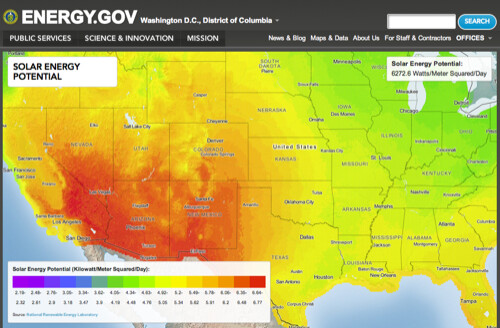 Energy.gov featuring MapBox maps