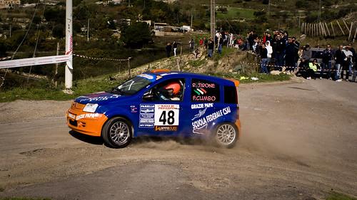 R.Tirone e F.Cumbo |Fiat Panda | 25° Rally Proserpina 2010