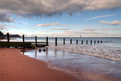 Teignmouth Beach (rosyrosie2009) Tags: uk sea england seascape beach water landscape photography coast nikon flickr photos devon hdr gettyimages westcountry groynes coastpath photomatix tonemapped flickrduel devonandcornwall d5000 rosiesphotos nikond5000 tamronspaf1024mmf3545diiildasphericalif rosiespooner rosyrosie2009 rosemaryspooner rosiespoonerphotography