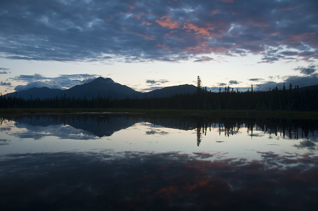 Reflection in the Wrangell St. Elias