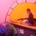 Melissa in Tent