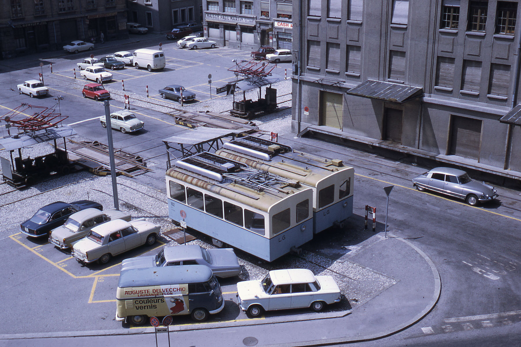 Flon - Place de l'Europe vers 1970