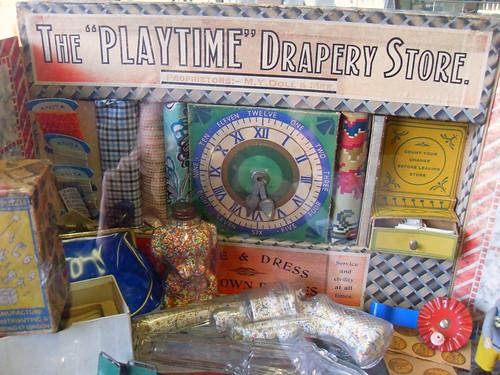 Pre war Toy Drapery Store