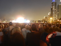 Watching Eminem @ lollapalooza 2011