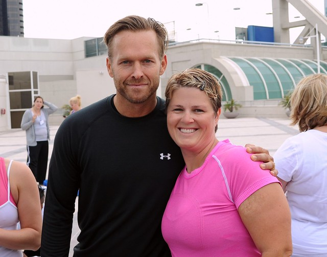 Angry Julie and Bob Harper, From The Biggest Loser
