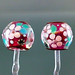 Earring: Rubino Flower Blossom