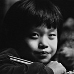 Young Boy & Chopsticks #2, Taipei City, Taiwan