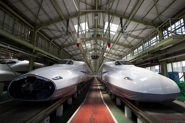 N700系 - 新幹線なるほど発見デー2011