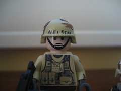 Nelson from Black Hawk Down (Da-Puma) Tags: black chopper lego hawk character helicopter nelso brickarms