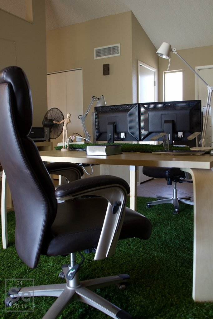 Bringing in the Outdoors, an Open Workspace