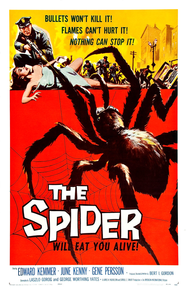 Albert Kallis - The Spider (American International, 1958) One Sheet