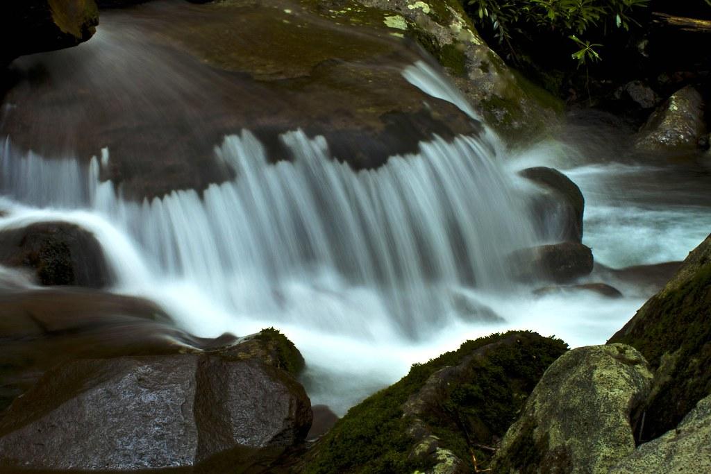 Small Waterfall at Rainbow Falls