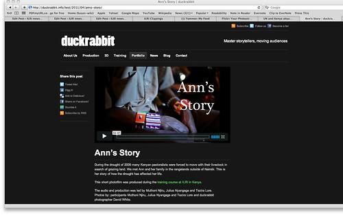 ILRI-duckrabbit photofilm: Ann's Story