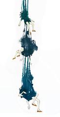 Falengirs (Viktor Miller-Gausa) Tags: mist illustration night ink watercolor twilight graphics empty dream drop vision nightmare void hang limbo bulgakov christmastoys lostboat amarina anoldtree blackresin aflightbetween aspotink