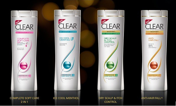 clear-women's range