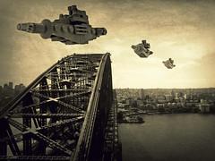 Battleships Over Sydney