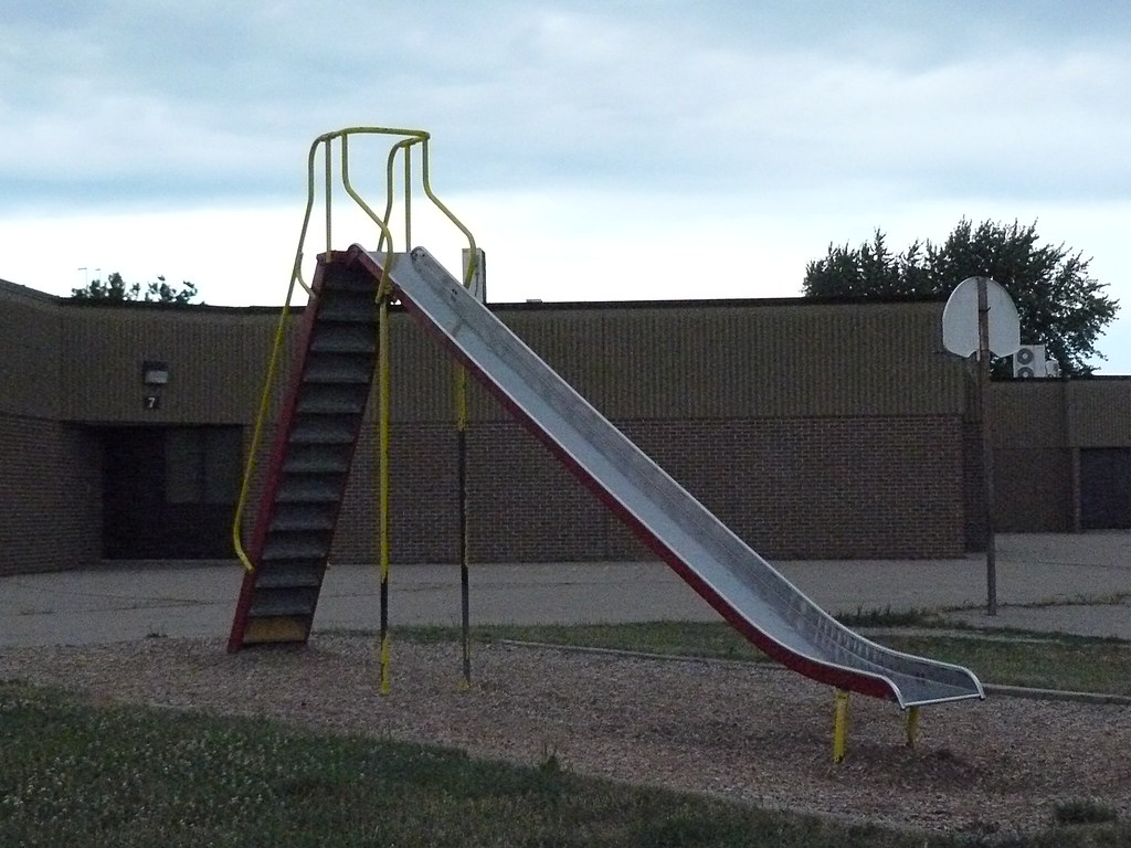 Old School Playground Equipment