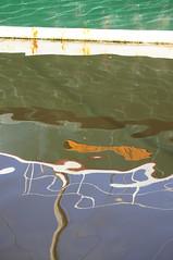 """cartela"": reflection on elizabeth street pier (Seakayem) Tags: water boat sony tasmania hobart slt sullivanscove a55 elizabethstreetpier"