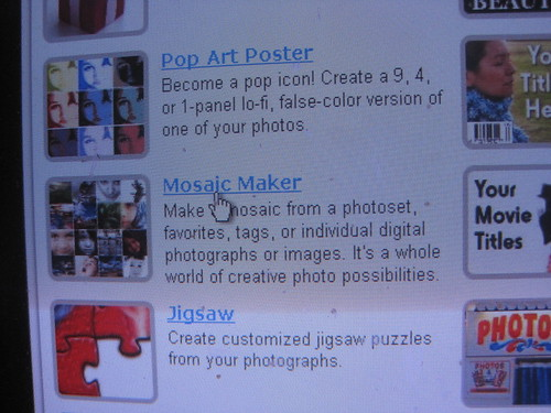 Click on the Mosaic Maker