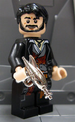 Brickarms Mystery Pack Vol.2 PREVIEW #3 Chrome Ray Gun! (ToyWiz.com) Tags: gun lego military weapon brickarms toywiz