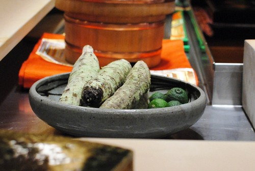 wasabi root