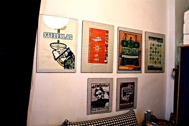 Stereolab Concert Posters