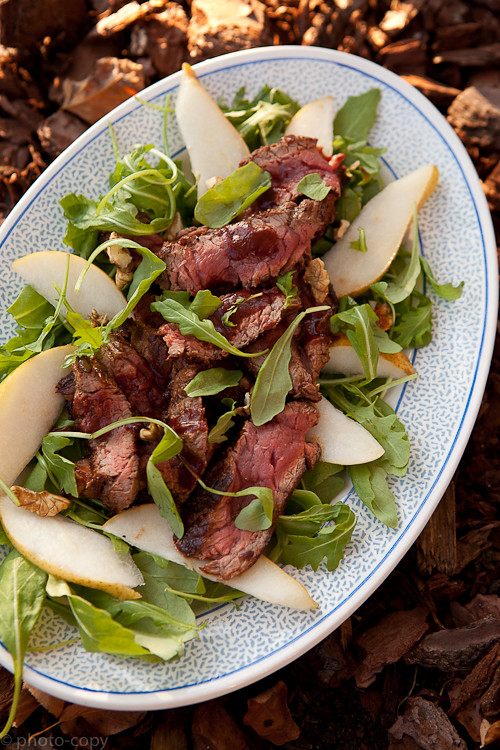 steak salad diabolo