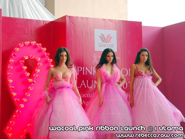Wacoal Pink Ribbon Launch @1 Utama-6