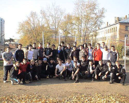 Пионеры воркаута в Иркутске!
