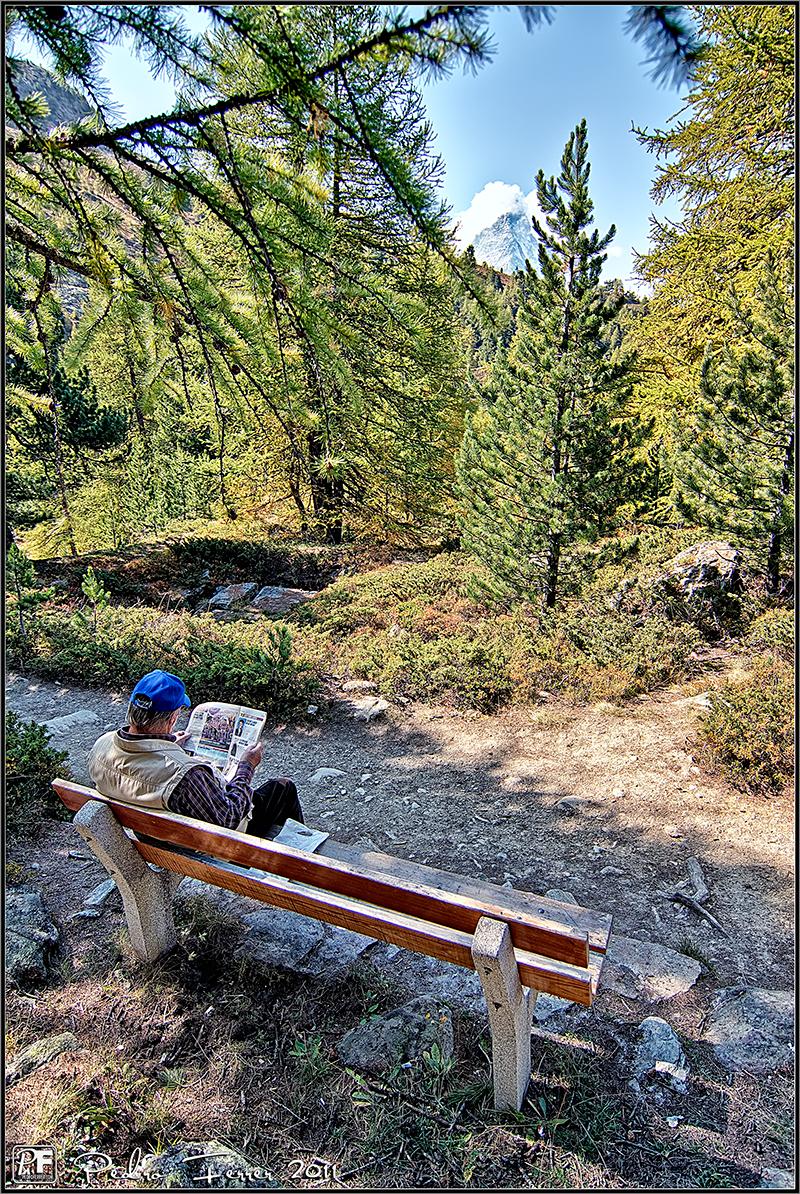 Suiza - Riffelalp - El cazador de bancos - Bench Hunter part XXXVIII