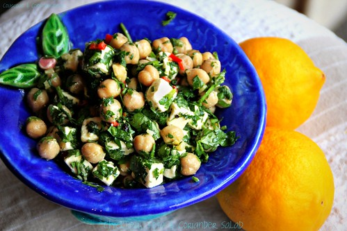 Chickpea, Feta & Coriander Salad 2
