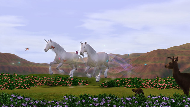 The Sims 3 Unicorns