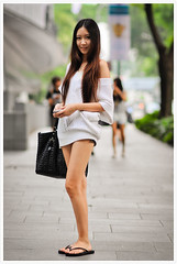 Street Portrait #192 (B.Image357) Tags: portrait woman cute sexy girl beautiful beauty fashion lady female asian nikon singapore pretty faces sweet bokeh strangers streetphotography lifestyle style elegant orchardroad streetportraits cinematicmoments d90 peopleinthecity candidandstreet sigma85mmf14exdghsm