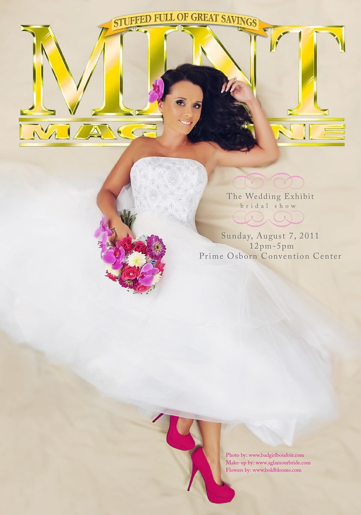 Jacksonville Bridal Show Winning Photograph // Mint Magazine Cover