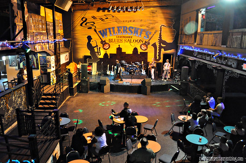 Stage & Dance Floor at Wilebski's Blues Saloon ~ St Paul, MN