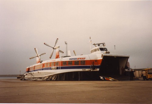 Hovercraft at Dover