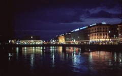 Geneva Switzerland at Night (Ray Cunningham) Tags: night lights switzerland noche geneva geneve nacht nuit notte    suiss