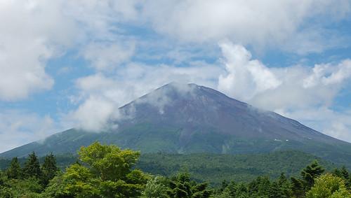 ★富士山も夏姿