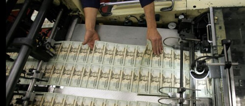 Printing US Paper Money