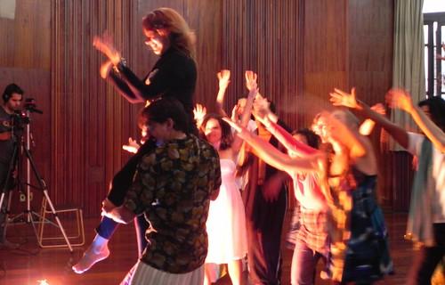 Marina e a energia do grupo by Silvana Abreu