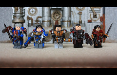 Legion (Geoshift) Tags: lego 40k warhammer warhammer40k customminifig legocustomminifig warhammerlego