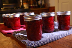 jammin (SpiderWomanKnits) Tags: strawberry vermont strawberries jam homegrown canning putup
