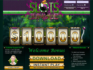 SlotsJungle Casino Home