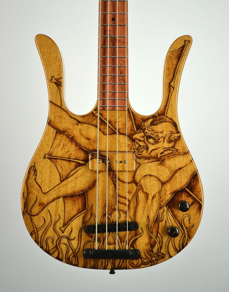 Woodburned Guitars An XXL Extravaganza