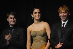 Dan Radcliffe, Emma Watson, and Rupert Grint (VaBookworm87) Tags: harrypotter emmawatson rupertgrint danradcliffe harrypotterandthedeathlyhallowsptiiuspremier