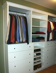 Mens Closet, Remodeling