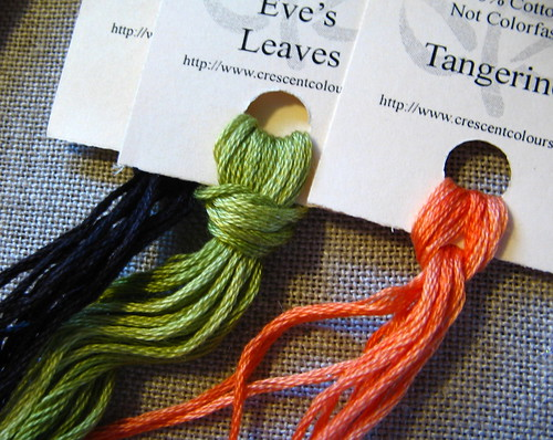 eve's leaves, tangerine...